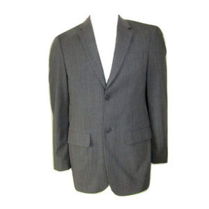 Mexx Grey 2 Button Suit Jacket Size 48L